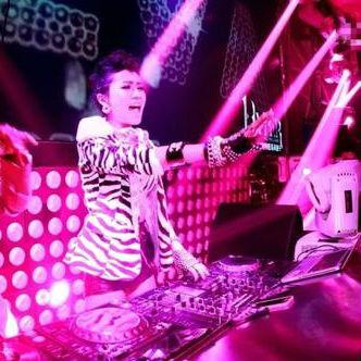 柳州Dj枫枫-中英文Disco音乐东莞上丰节日激情派对劲爆的士高MC喊麦现场